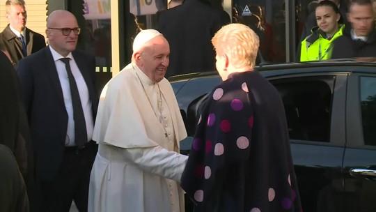 Papa Francisco encerra viagem ao Báltico com visita à Estônia