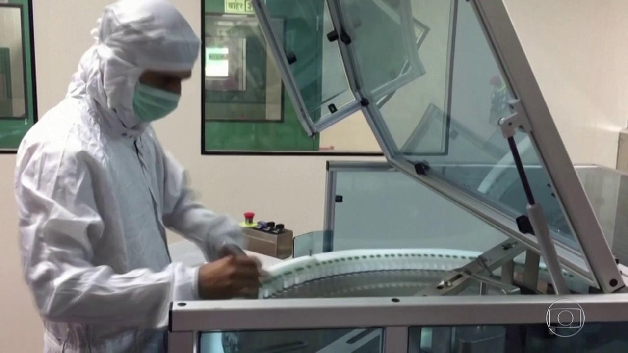 Fiocruz pede ajuda ao Itamaraty pra importar vacina de Oxford produzida da Índia