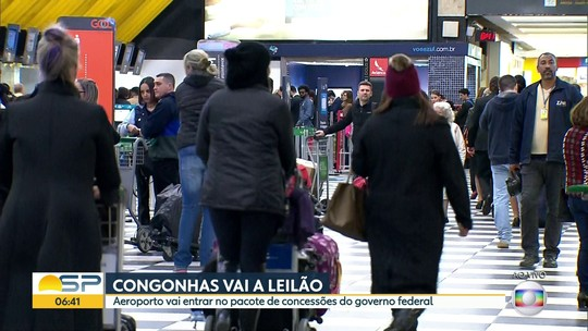 Governo estuda agora fazer a concessão de 13 aeroportos