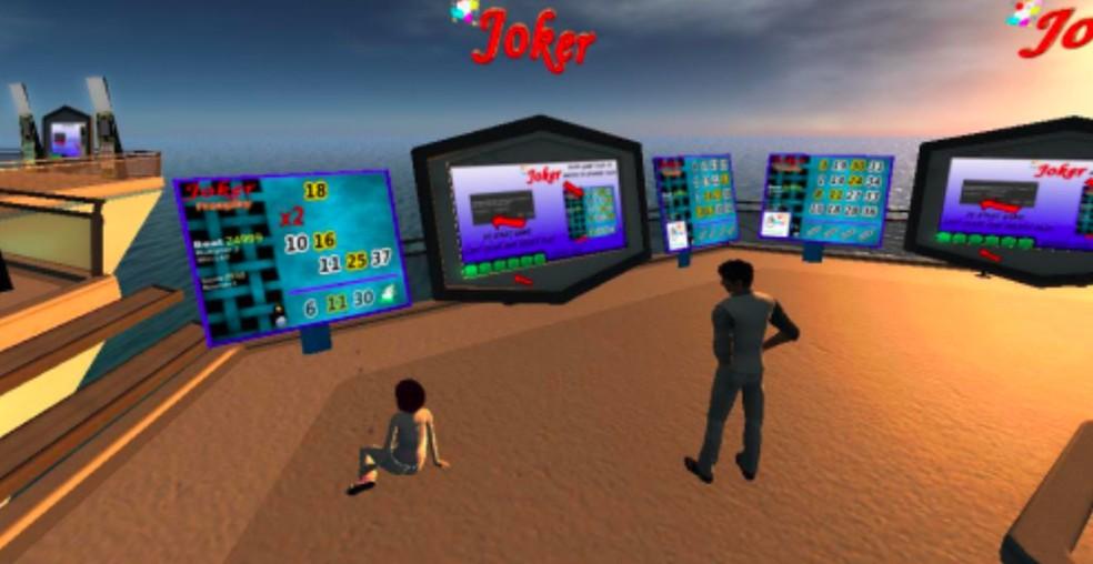 Second Life foi alvo de polêmicas envolvendo dinheiro — Foto: Reprodução/Felipe Vinha