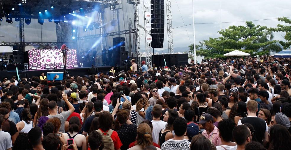 Palco para shows nacionais vai ser montado na Beira-Mar Norte - floripa tem (Foto: Igor Zanin/Divulgação)