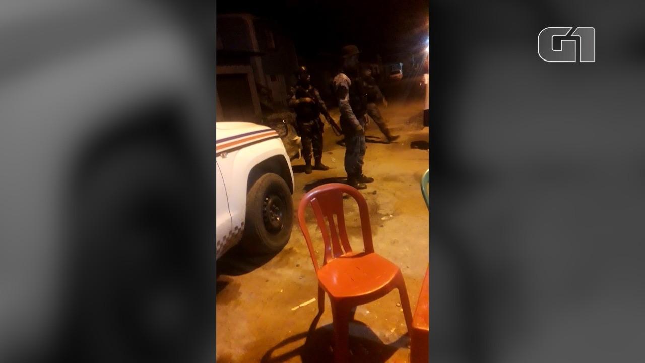 Homem vítima de abordagem truculenta no Maranhão mostra vídeo feito antes de levar tiro