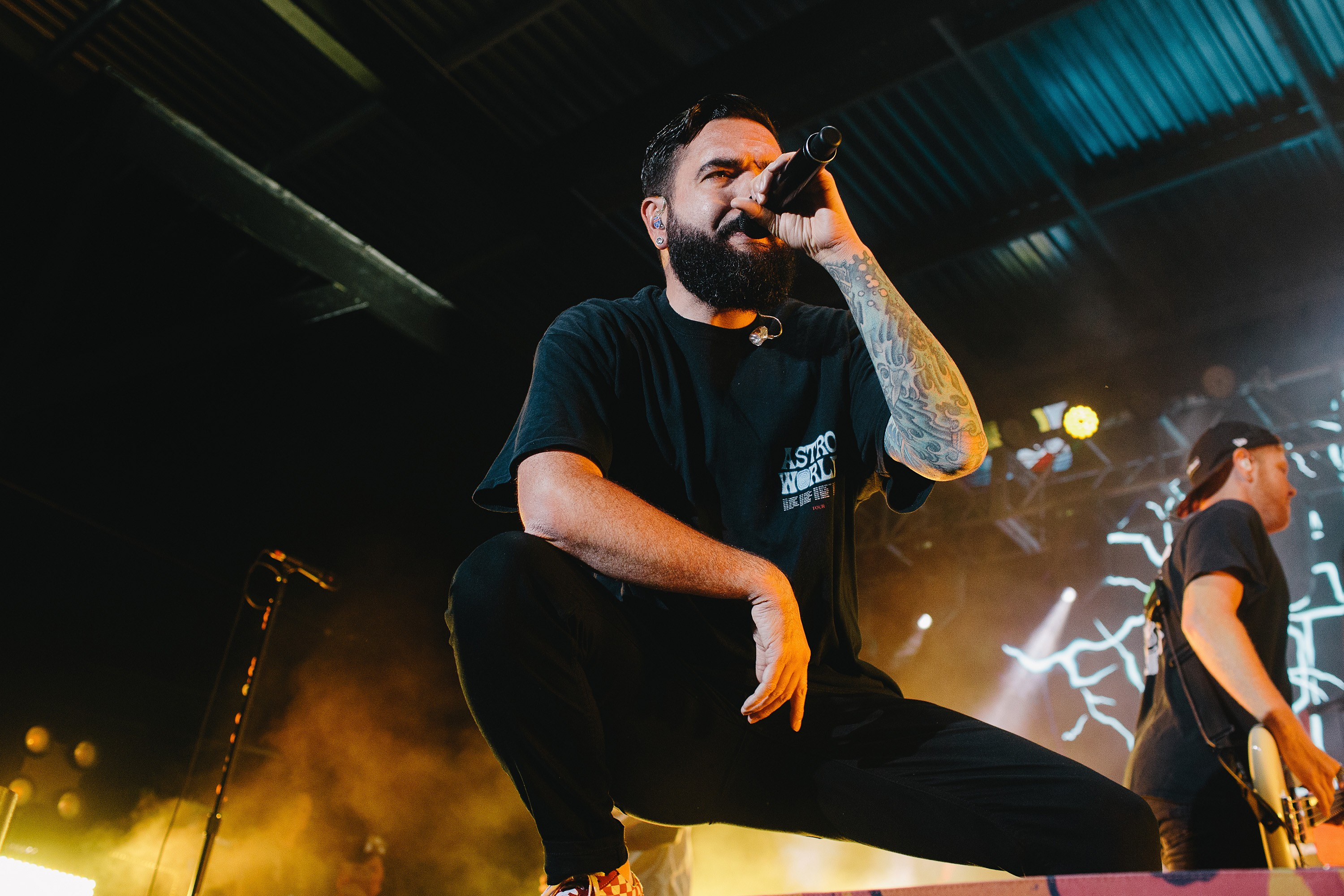 BIRMINGHAM, ALABAMA - JUNE 15: Jeremy McKinnon of A Day to Remember performs at Avondale Brewing on June 15, 2019 in Birmingham, Alabama. (Photo by David A. Smith/Getty Images) (Foto: Getty Images)
