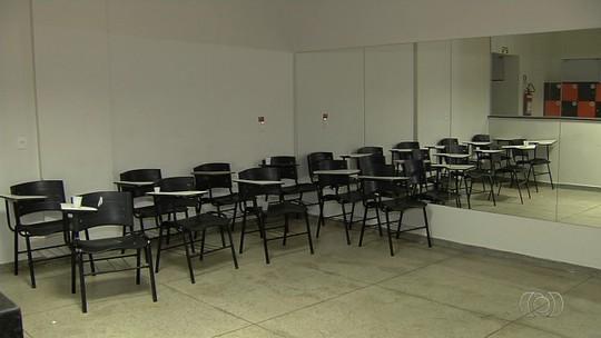 Prefeitura improvisa espaço para abrigar mais alunos em Senador Canedo