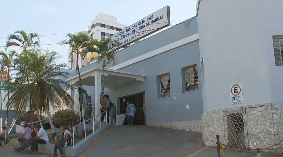 Criança, morre, Marília, Isabelle, Hospital Materno Infantil (Foto: Reprodução / TV TEM)
