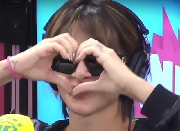 Cleo manda coraçãozinho ao lembrar Nico Puig (Foto: Reprodução)