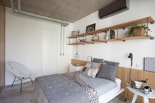 6 quartos com decoração escandinava para inspirar (Foto: Gui Morelli)