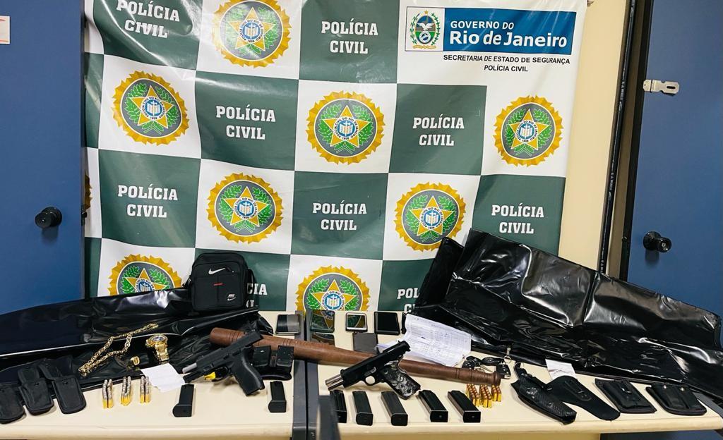 Polícia prende suspeitos de integrar a milícia do Quitungo, em Brás de Pina
