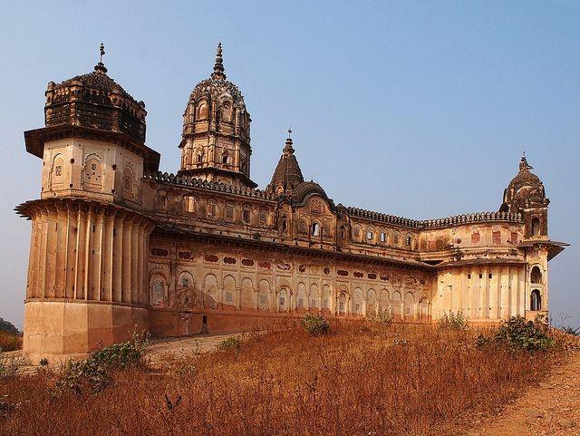 Templo de Lakshmi, em Orcha (Índia)