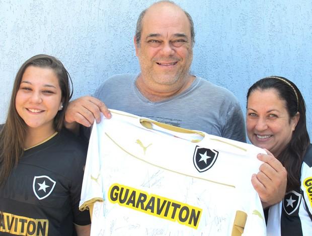 Família Otavio  (Foto: Thales soares)