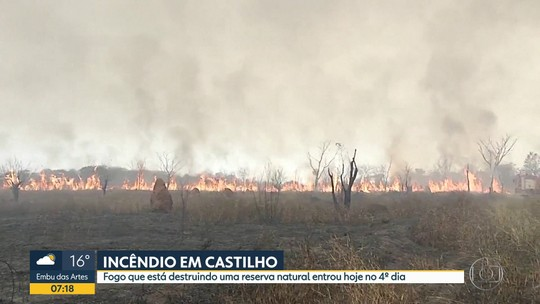 Incêndio em Castilho