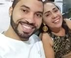 Gilberto e a mãe, Jacira   Reprodução