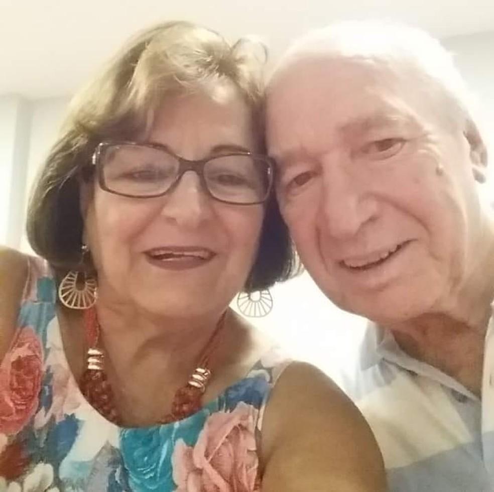 Suely e o marido, de 82 anos, estão em quarentena em Jaú (SP) — Foto: Suely Machado/Arquivo pessoal