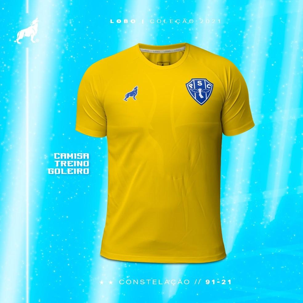 Camisa de treino goleiro — Foto: Divulgação