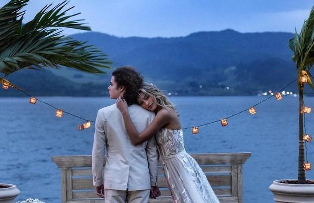 Sasha e João se casaram na casa de Xuxa em Angra dos Reis (Foto: Reprodução)