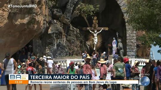 Devoção: Bom Jesus da Lapa recebe milhares de romeiros de várias partes do Brasil