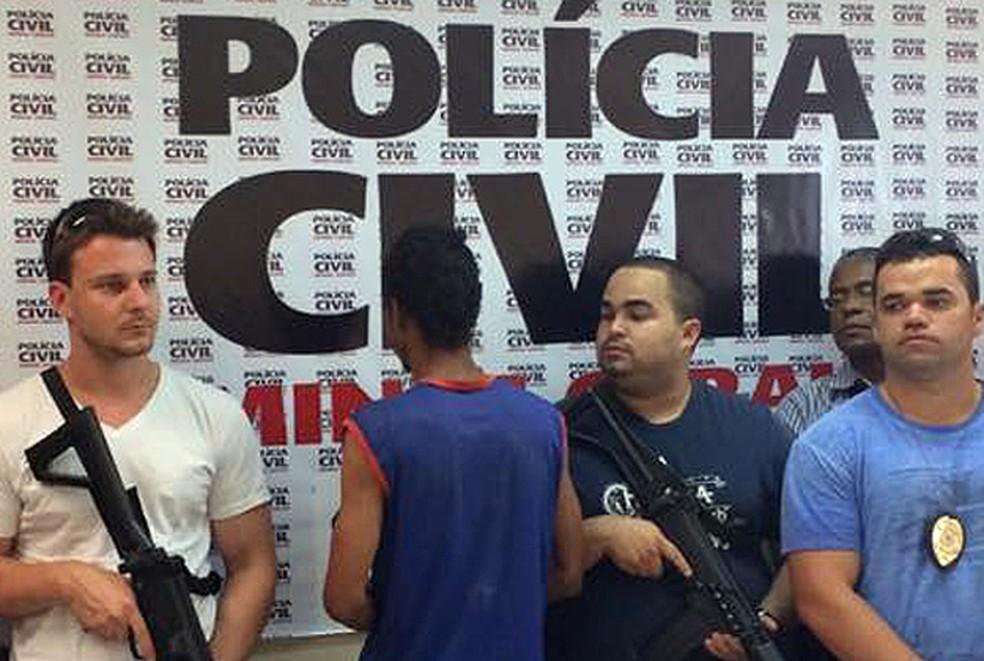 -  Homem foi preso três dias depois de estuprar e matar menina de 4 anos em Leopoldina  Foto: Laila Hallack/G1