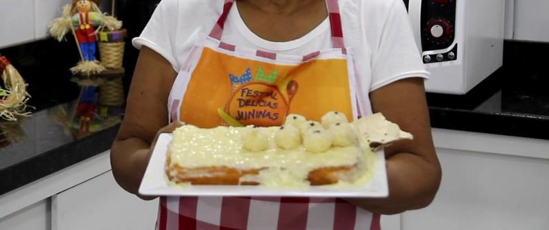 Receita junina: aprenda a fazer um delicioso Bolo de mandioca raiz da esperança