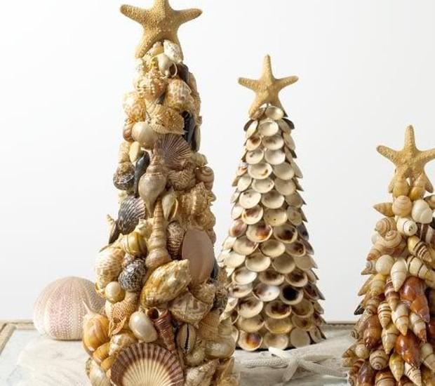 Árvore de conchas (Foto: Pinterest/Reprodução)