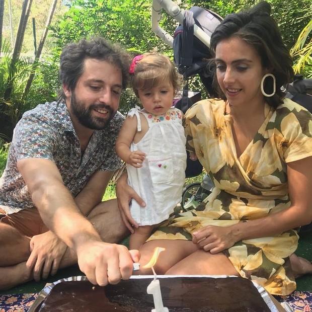 Gregório Duviver, Marieta e Giovanna Nader (Foto: Reprodução Instagram)