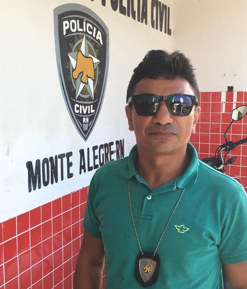 Policial civil Ricardo Wagner participou das investigações e confirmou que o namorado de Josierica é o suspeito do assassinato — Foto: Heloísa Guimarães/Inter TV Cabugi