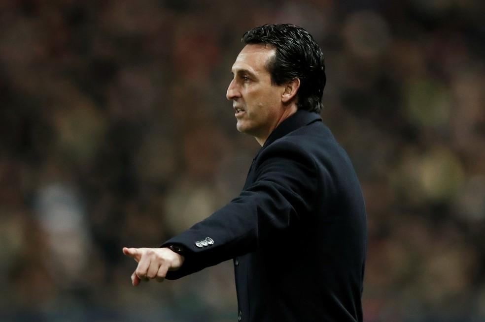 Emery diz que quer resolver a situação internamente (Foto: Benoit Tessier/Reuters)