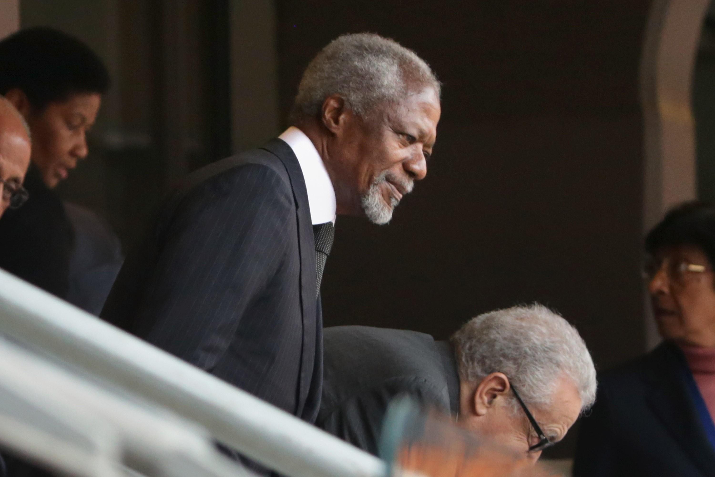 Kofi Annan, ex-secretário-geral da ONU (Foto: Getty Images)