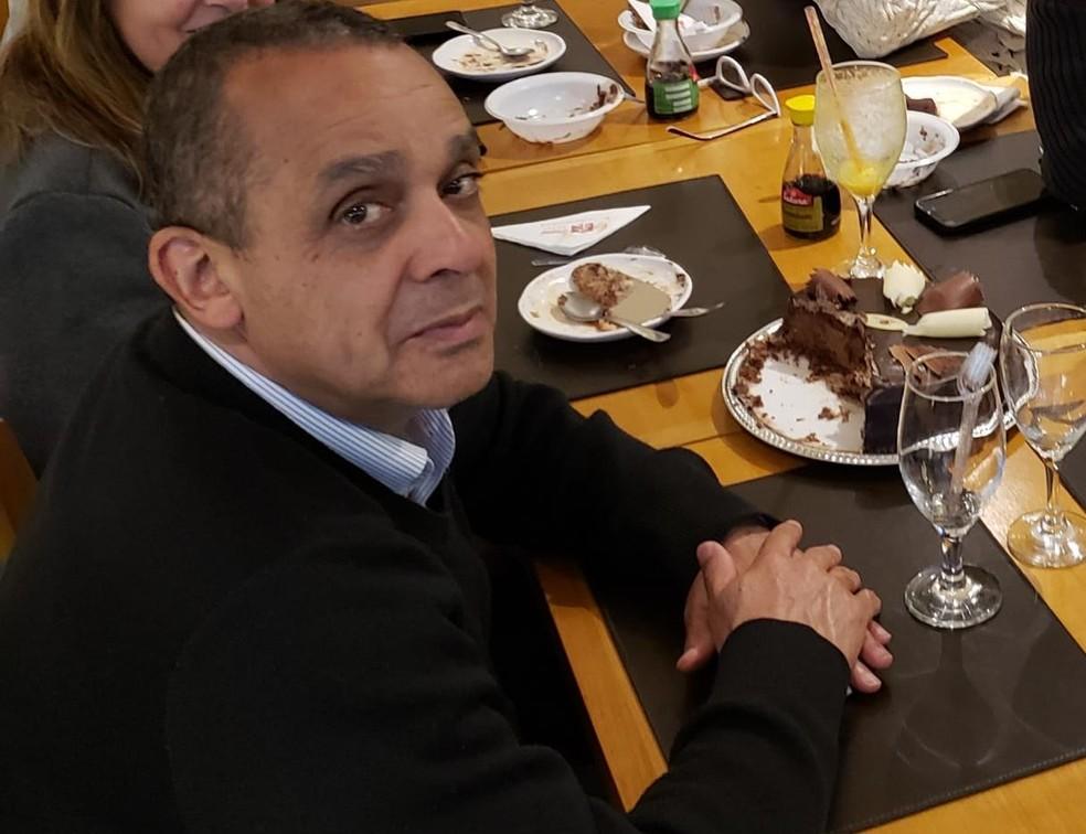 O advogado Aparecido dos Santos Bonano em sua última festa de aniversário — Foto: Arquivo pessoal