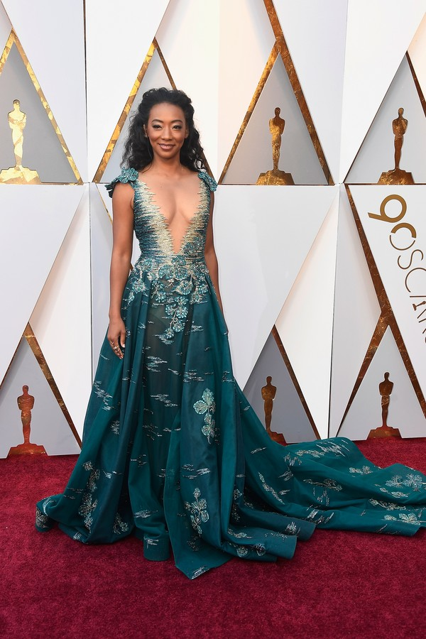 HOLLYWOOD, CA - MARCH 04:  Betty Gabriel attends the 90th Annual Academy Awards at Hollywood & Highland Center on March 4, 2018 in Hollywood, California.  (Photo by Frazer Harrison/Getty Images) (Foto: Getty Images)