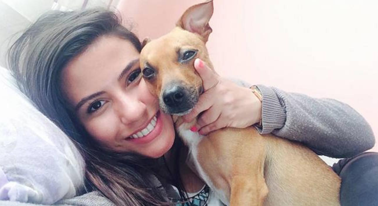 Isabelle Moreira e Vicki (Foto: Facebook/Reprodução)