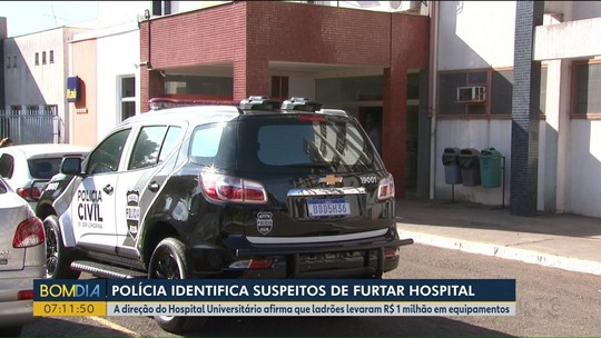 4 são presos suspeitos de furtar equipamentos de hospital no PR