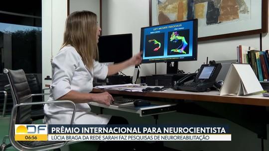 Neurocientista da Rede Sarah, formada na UnB, recebe prêmio inédito no Brasil