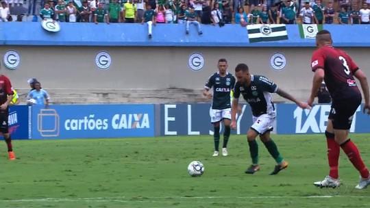 Goiás x Brasil de Pelotas - Campeonato Brasileiro Série B 2018 - globoesporte.com