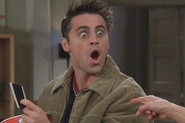Mtt LeBlanc como Joey em Friends (Foto: Reprodução)