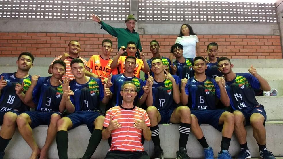 0b4731f1c6 ... GHC Caic Uninassau vence a segunda partida seguida no Brasileiro  Juvenil — Foto