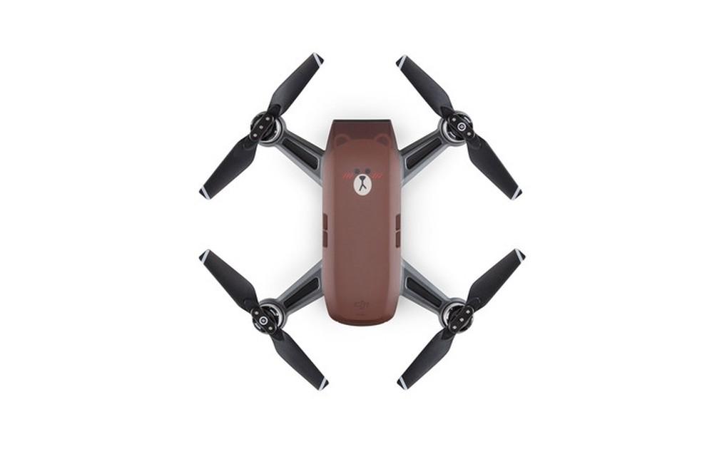 Drone Spark Line Friends pesa apenas 300 gramas (Foto: Divulgação/DJI)