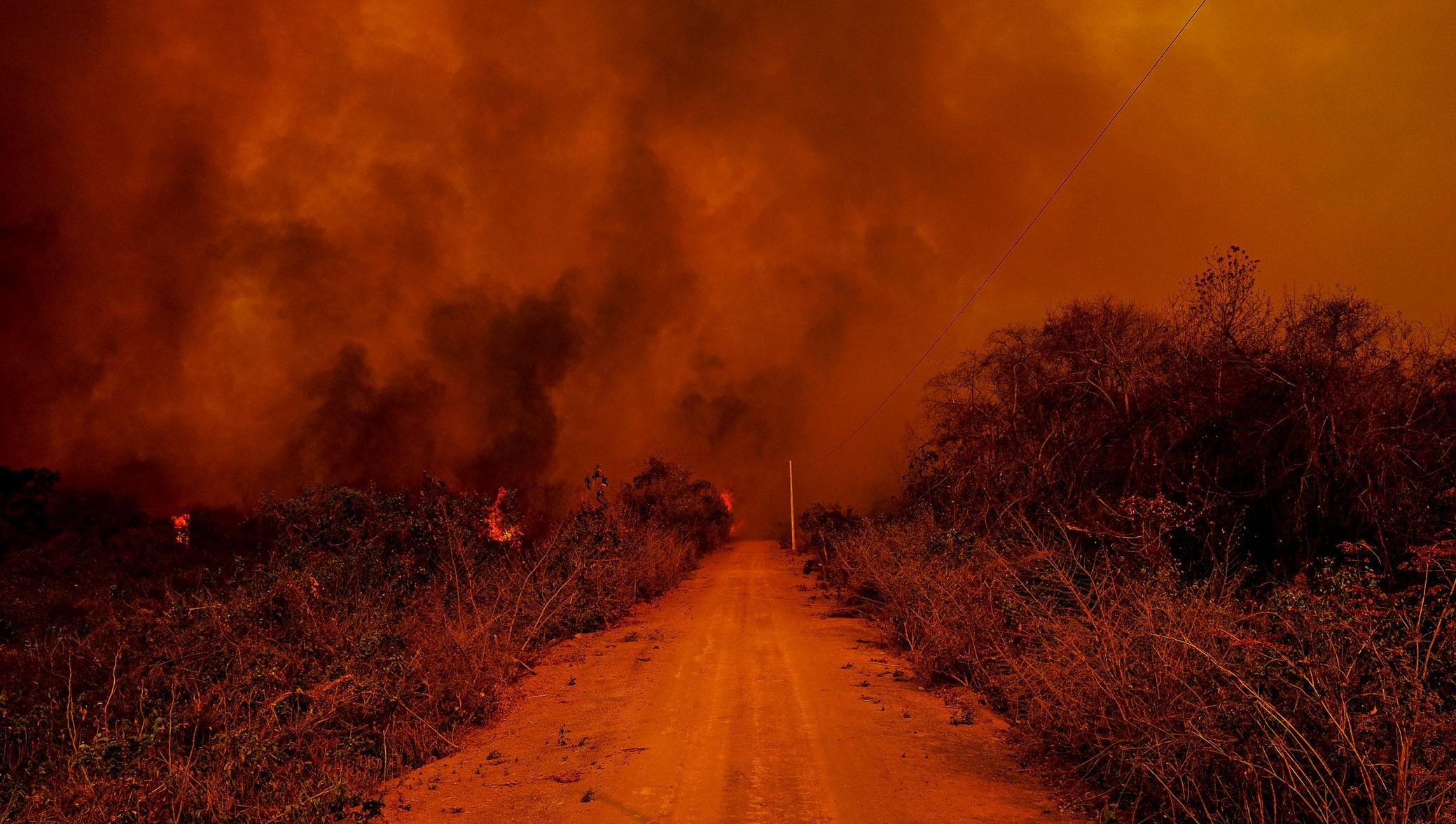 Cinco perícias realizadas pelo Centro Integrado Multiagências de Coordenação Operacional (Ciman-MT) apontaram ação humana como causa da origem das queimadas na região do Pantanal (Foto: Mayke Toscano/Secom-MT - Fotos Públicas)