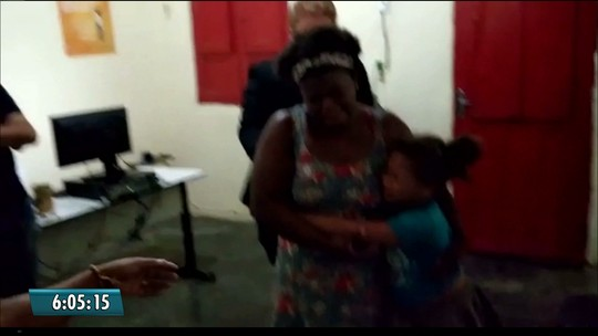 Vídeo mostra reencontro de Nicole com a mãe no Ceará após 18 dias do sequestro