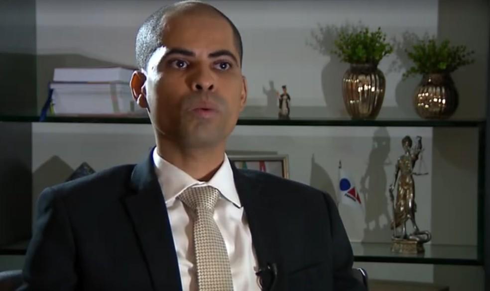 Alberdan Coelho, advogado dos vereadores e do contador — Foto: Reprodução / TV Globo