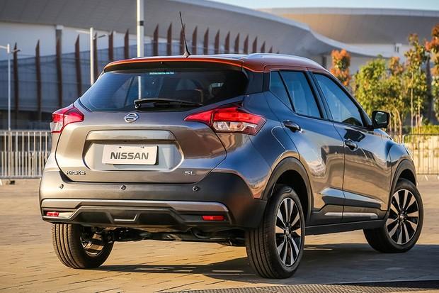 Nissan Kicks SE sai por pouco mais de R$ 90 mil (Foto: Divulgação)
