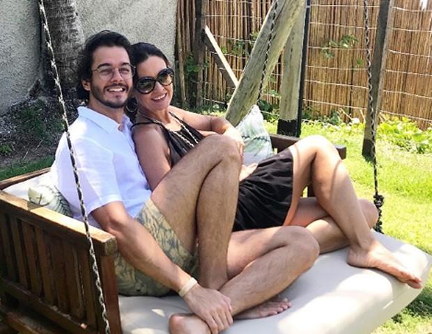 Fátima Bernardes e Túlio Gadelha  (Foto: Reprodução/Instagram)