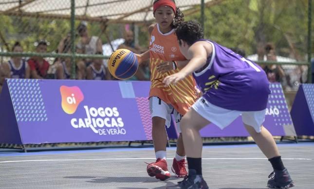 Jogos Cariocas de Verão - basquete 3x3