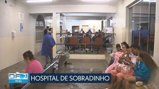 Pediatria do Hospital de Sobradinho é reaberta depois de vistoria da Defesa Civil