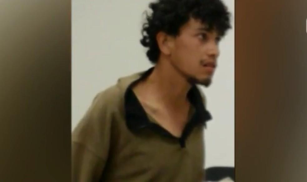Elivelton Santos Furtado teve a prisão preventiva decretada — Foto: Reprodução