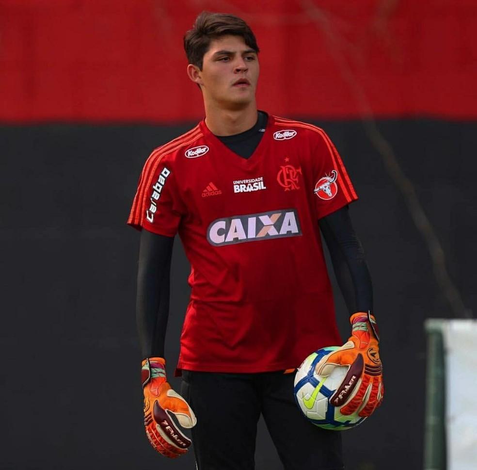 João Fernando, Flamengo — Foto: Divulgação