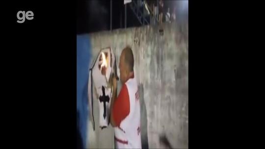 Presidente de clube que abandonou Estadual de RO 'queima caixão' do adversário