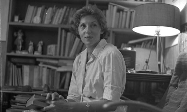 A autora Clarice Lispector em imagem de 28 de março de 1961