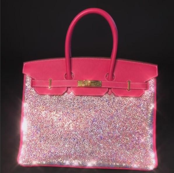 Que ta a Birkin pink de Paris Hilton? (Foto: Instagram/Reprodução)