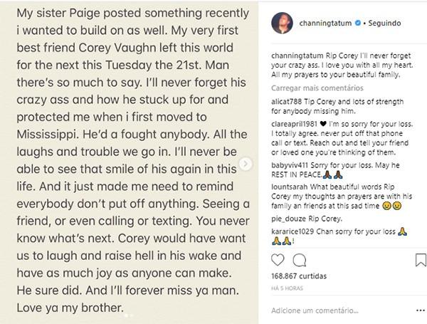 Channing Tatum (Foto: Instagram)