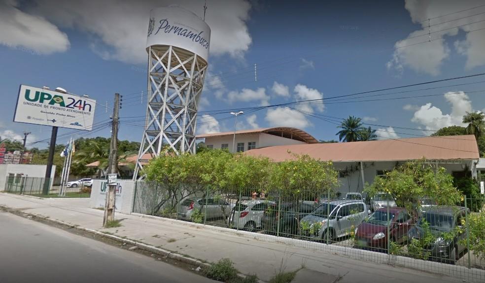 Vítima do homicídio foi levada para a UPA de Jardim Paulista, mas não resistiu aos ferimentos — Foto: Reprodução/Google Street View